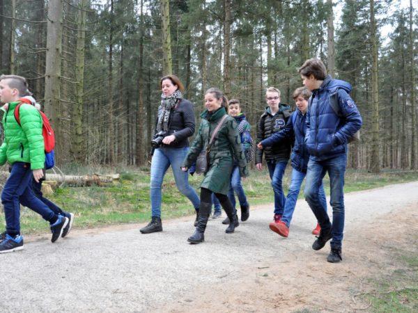 Groep 8 naar Westerbork