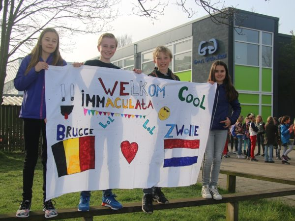 Foto's uitwisseling met Brugge