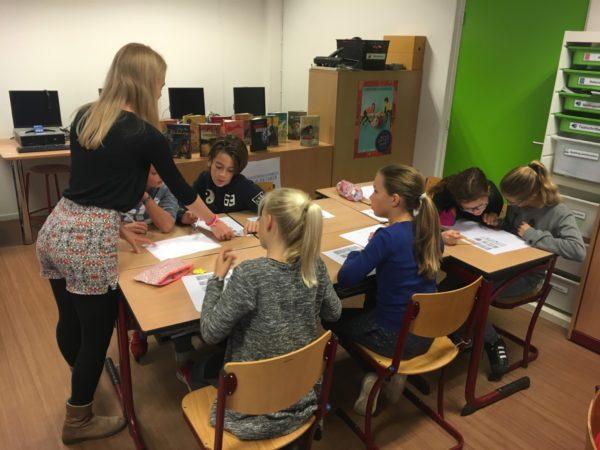 Griekse les in groep 7